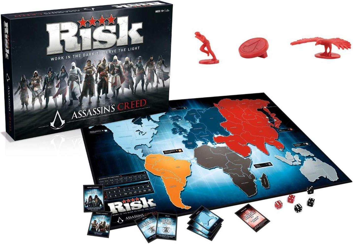 Assassins Creed - Winning Moves Juego de Mesa Oficial Risiko Risk: Amazon.es: Juguetes y juegos