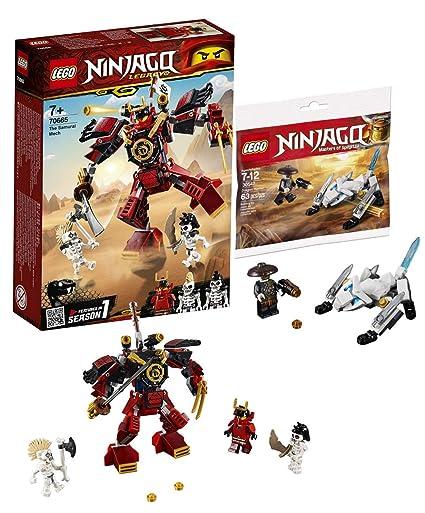 LEGO 70665 - 30547 Ninjago - Robot de Samurai con dragón y ...