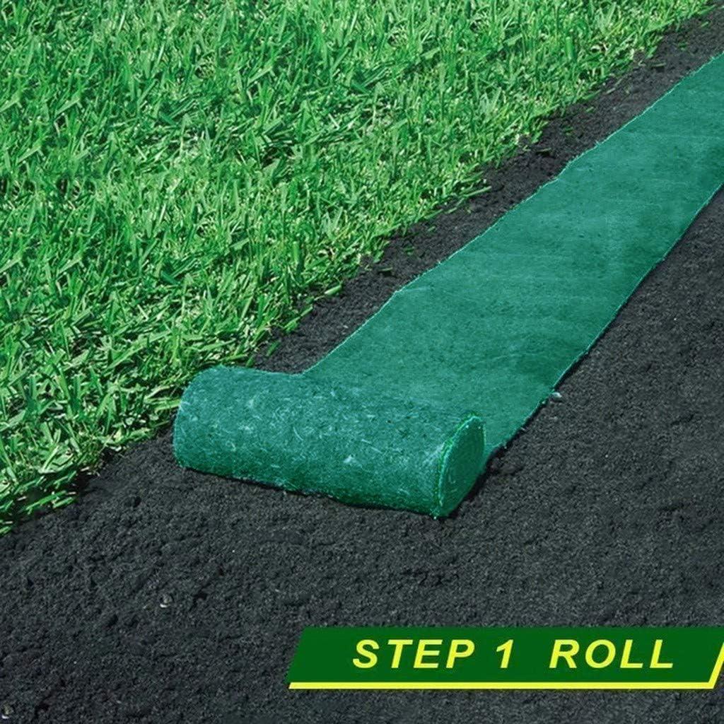 20/×300cm Biodegradable Grass Seed Mat,Grass Seed Mat Fertilizer Garden Picnic Gardening Lawn Planting Mat