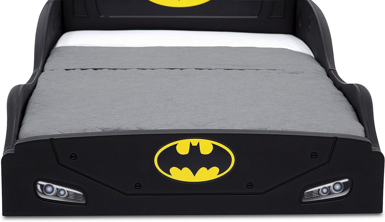 Toddler Kids Child Bed Play Sleep Batman Bedroom Car Guardrails Safe Plastic