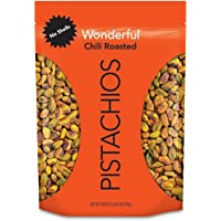 Wonderful Pistachios, No Shells, Chili Roasted, 22 Ounce Resealable Pouch