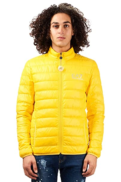 purchase cheap 51ddf d9399 PIUMINO EMPORIO ARMANI EA7 100 GRAMMI - Cyber Yellow