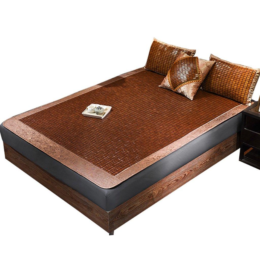 0.9m bed YXWzd Cool Bambusmatte Summer Collapsible Wärmeableitung Pad glatt Cool Matratze EIS Schlafmatte 0.8 0.9 1.0 1.2 1.35 1.5 1.8 2.0m Bett (größe   0.9m Bed)