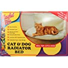 PMS SUSPENDED CAT BED-FOR RADIATOR IN COLOUR BOX