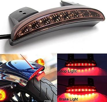 MOTORCYCLE SMOKE FENDER LED TAIL LIGHT FOR HARLEY NIGHTSTER STREET BOB XL 883