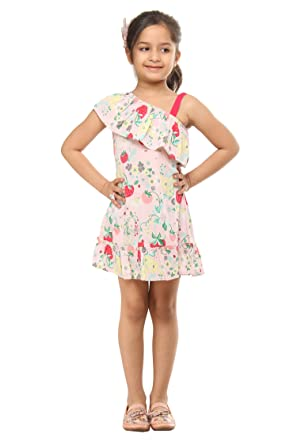 f8f2ef4ab296a Image Unavailable. Image not available for. Colour: Kids on Board Fruit print  dress- Multicolor