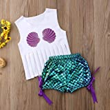 Children Baby Tassels Sleeveless Shell Print