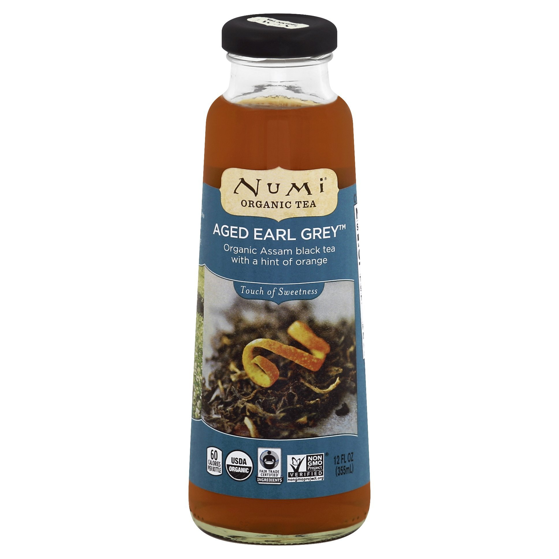 Numi Organic Tea, Ready to Drink, Earl Grey Tea, 12z