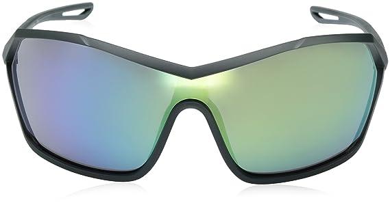 bd5dc63ecc Amazon.com  Nike Helix Elite M Shield Sunglasses Seaweed 73 mm  Clothing