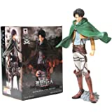 "Banpresto Attack on Titan Master Stars Piece 49088 9.5"" Levi Ackerman Action Figure"
