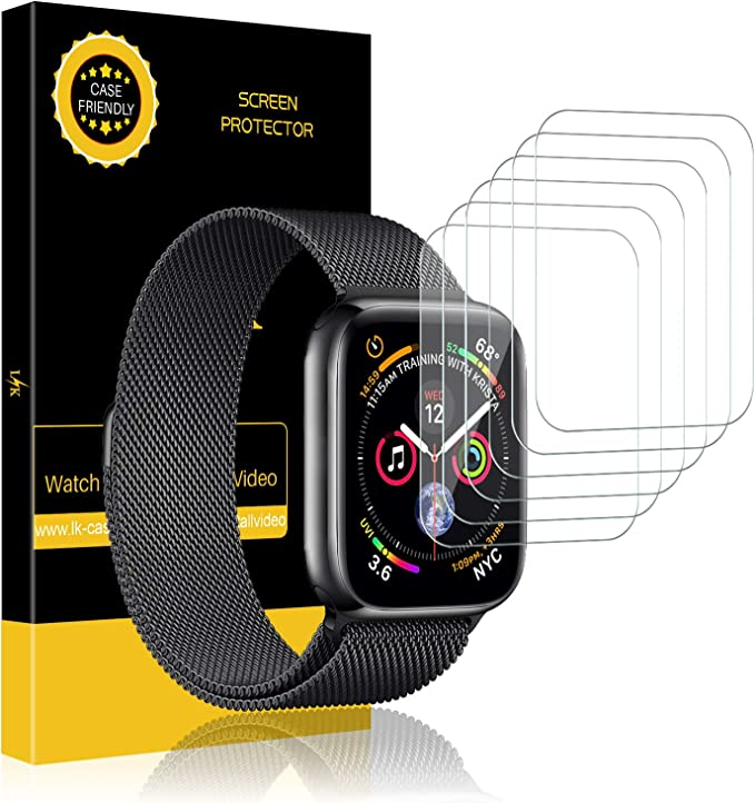 Amazon.com: LK - Protector de pantalla para Apple Watch ...