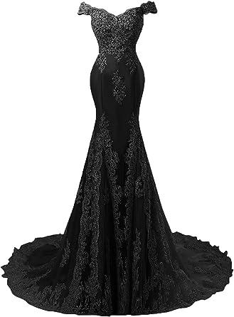 Cap Sleeve Lace Prom Dresses