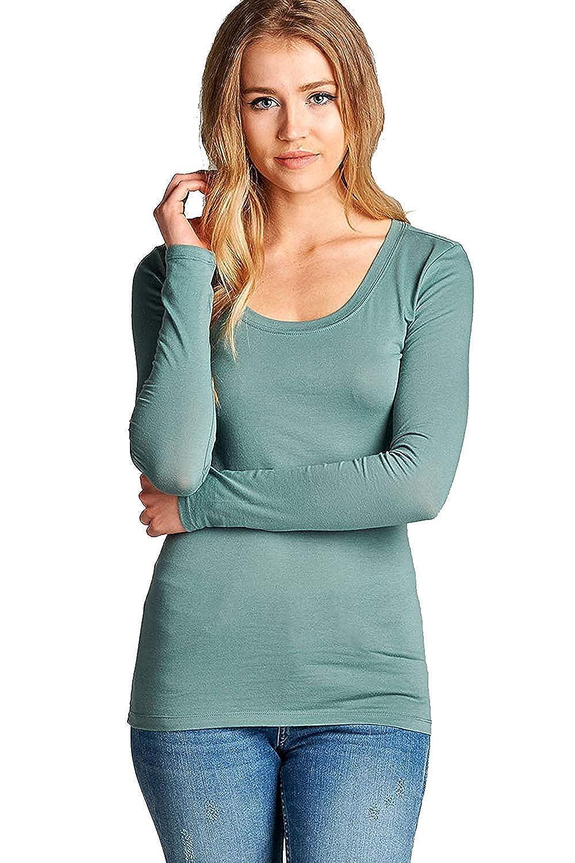 167 arfurt Women's Long Sleeve Button Down Casual Dress Shirt Business Blouse