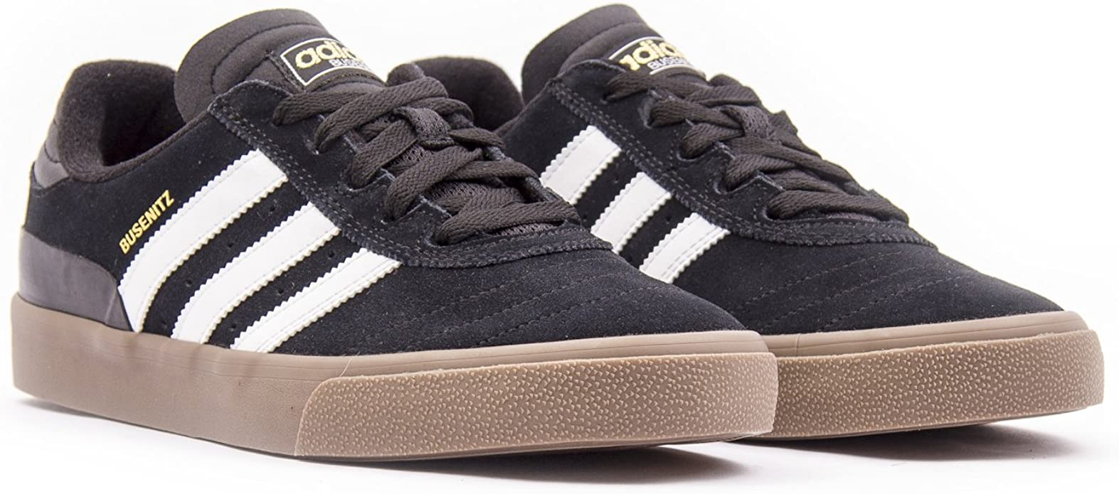 Nylon Punto de exclamación Retocar  Adidas Busenitz Vulc Black/White/Gum Shoes: Amazon.ca: Shoes & Handbags