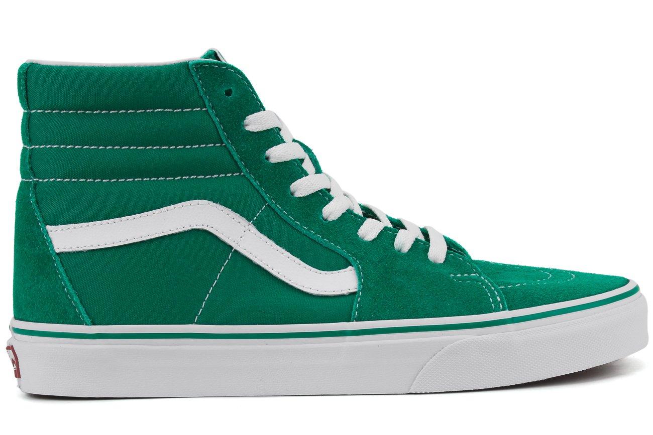 [バンス] Vans Sk8-Hi - メンズ カジュアル [並行輸入品] B072KDKJYF US13.0 Ultramarine Green/True White