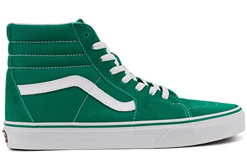 1b22011021 Vans Unisex Sk8-Hi (Suede and Canvas) Ultramarine Green and True White  Leather Sneakers - 11 UK India (46 EU)  Buy Online at Low Prices in India -  Amazon.in