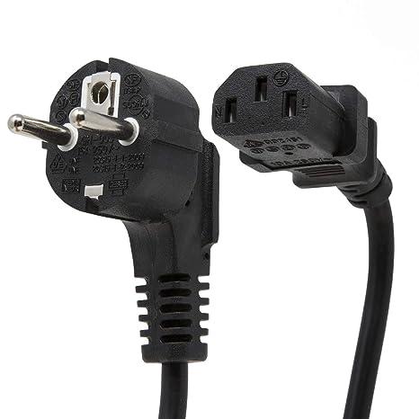 Extrastar GH003 - Cable de alimentación para aparatos de frío (1,5 ...