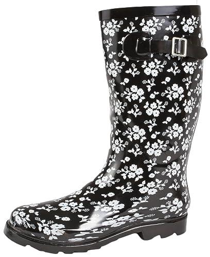 e0724958e46 Lora Dora Womens Knee Length Wellington Boots