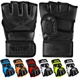 MMA UFC Gloves for Men, Women, and Kids, Elite Sports Best Mixed Martial Arts Sparring Training Grappling Fighting…