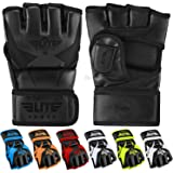 Elite Sports MMA UFC Gloves for Men, Women, and Kids, Best Mixed Martial Arts Sparring Training Grappling Fighting Gloves