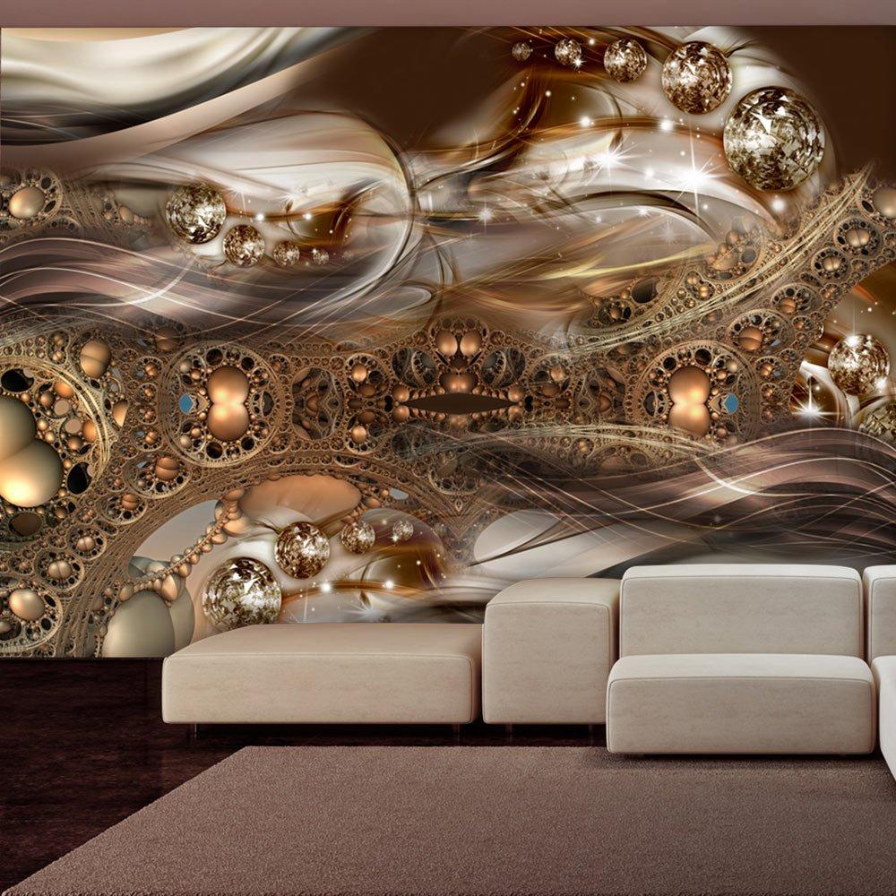 Murando - - - Fototapete 400x280 cm - Vlies Tapete - Moderne Wanddeko - Design Tapete - Wandtapete - Wand Dekoration - Abstrakt Gold a-A-0084-a-d B0171RH7G4 Wandtattoos & Wandbilder f90b2a