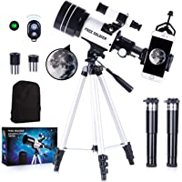 FREE SOLDIER Telescope for Kids&Astronomy Beginners - 15X-150X High Magnification Astronomical Refractor Telescope…