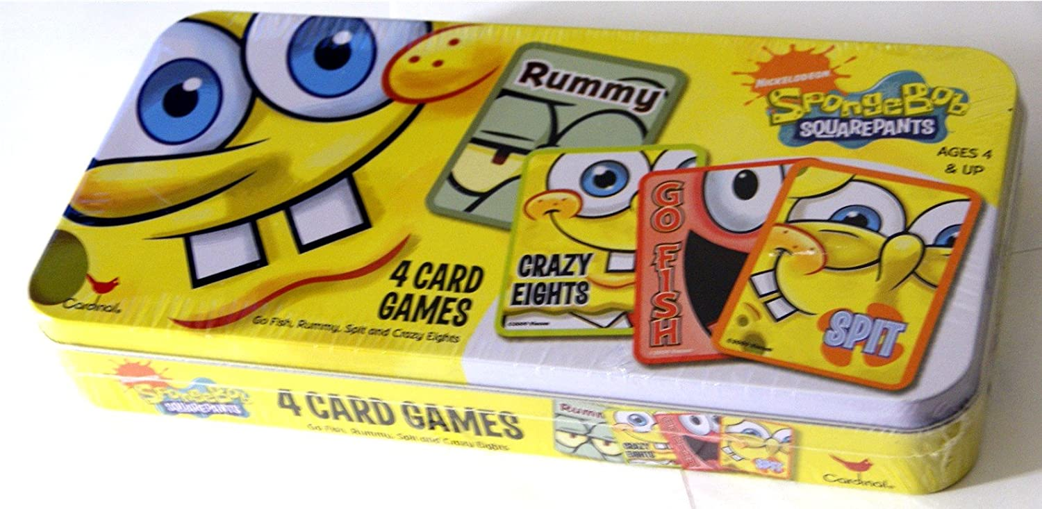 Spongebob go fish card game online for What goes good with fish