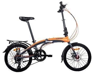 Bicicleta Plegable para Hombre o Mujer, de Aluminio, 16 ...