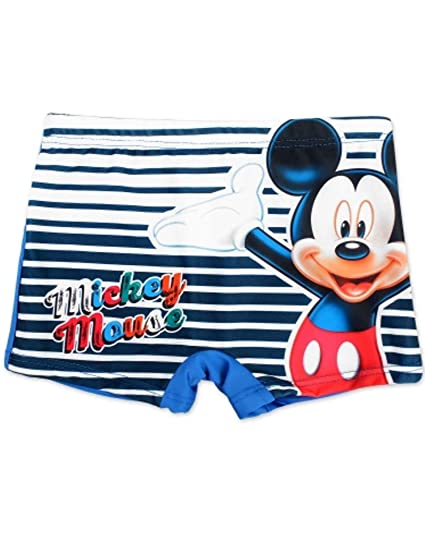 b789605a5a Boys Official Licensed Mickey Mouse Print Swim Shorts Age 1-2 Years