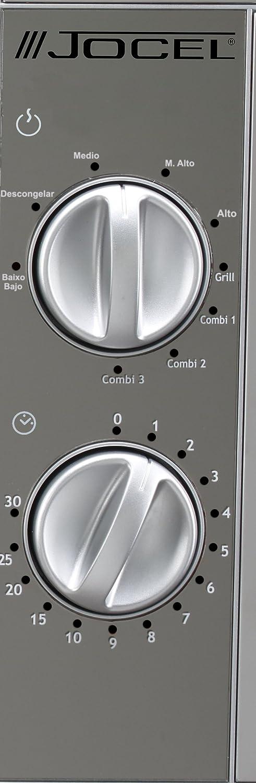 Jocel JMO011428 Microondas, 900 W, 25 litros, Gris: Amazon.es: Hogar