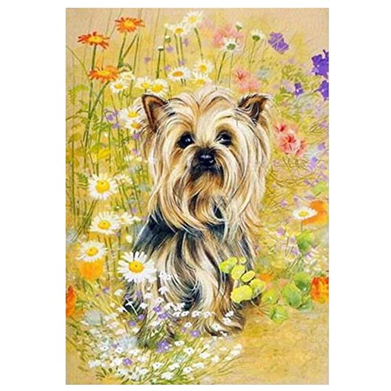5D Diamond Embroidery Painting Cross Stitch DIY Craft Home Decor Dog