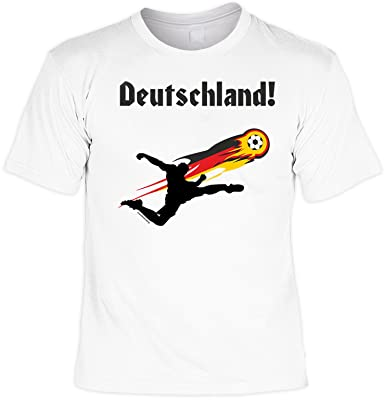 Deutschland Fussballspieler Coole Sprüche Tshirt mit Urkunde