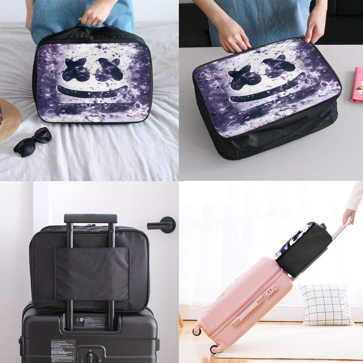 Mars/_hm/_ello Large Capacity Portable Luggage Bag Travel Lightweight Waterproof Storage Carry Luggage Duffel Tote Bag