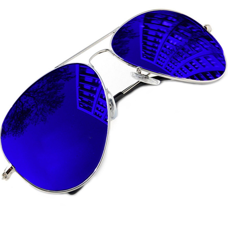 Morefaz Gafas de sol unisex estilo aviador polarizadas protección UV