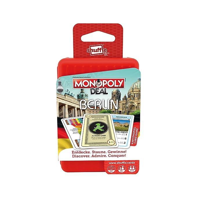 ASS Altenburger 22503321 Shuffle Monopoly Deal City Trip - Berlin ...