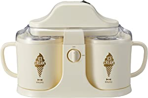 "BRUNO ""DUAL ICE CREAM MAKER"" BOE032-IV (Ivory)【Japan Domestic genuine products】"