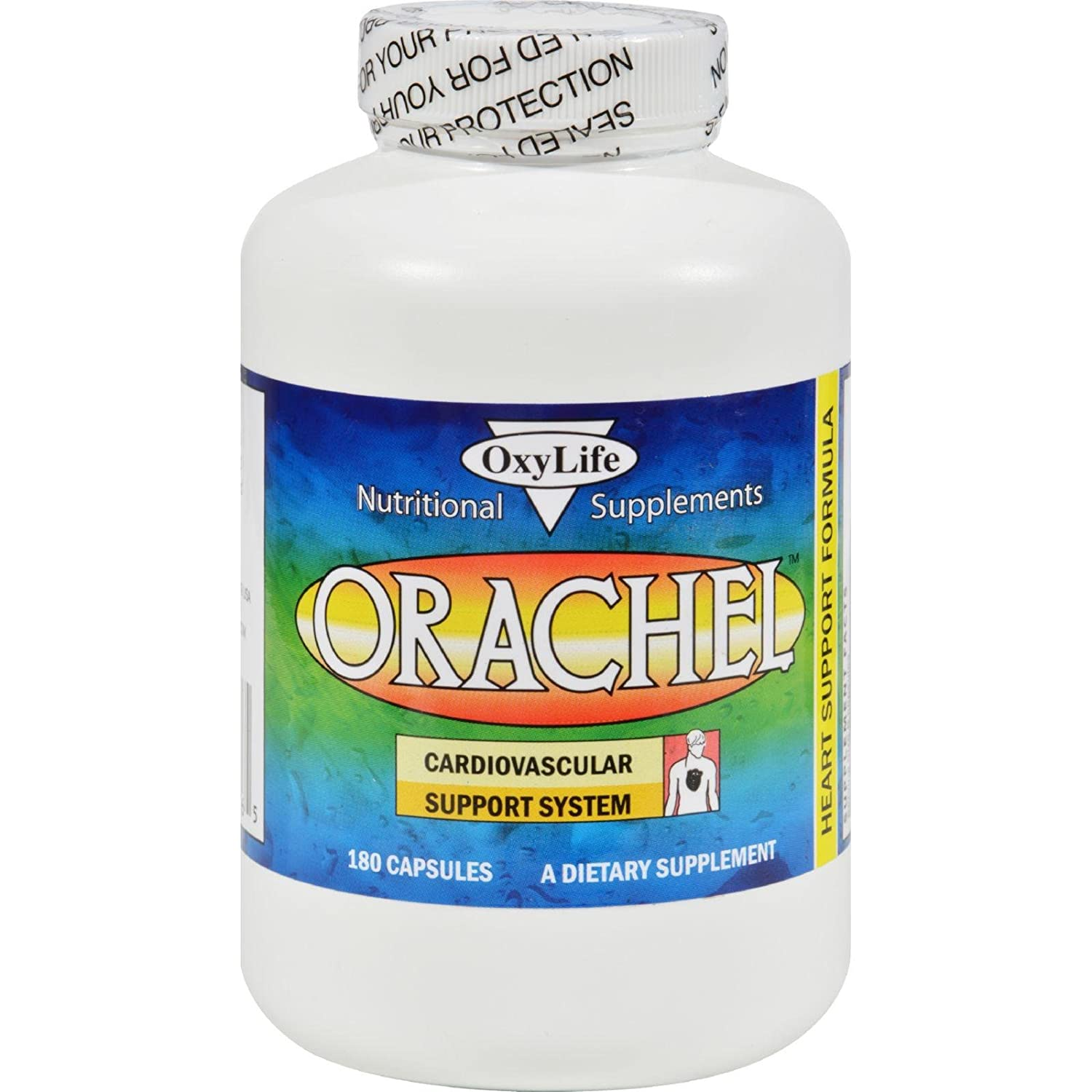 OXYLIFE PRODUCTS, ORACHEL-CARDIO – 180 CAP