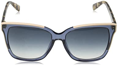 para mm de 55 Furla mujer Sfu135 sol Gafas Ropa Eyewear accesorios y rectangulares Amazon es multicolor IwHqBpxxF