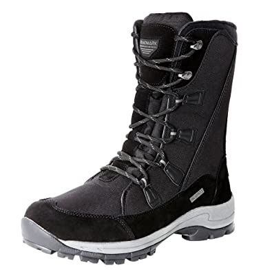 Roadmark Women s Waterproof Winter Snow Boots Mid Calf Rain Warm Boot  (US6.5 a305f7fbfd