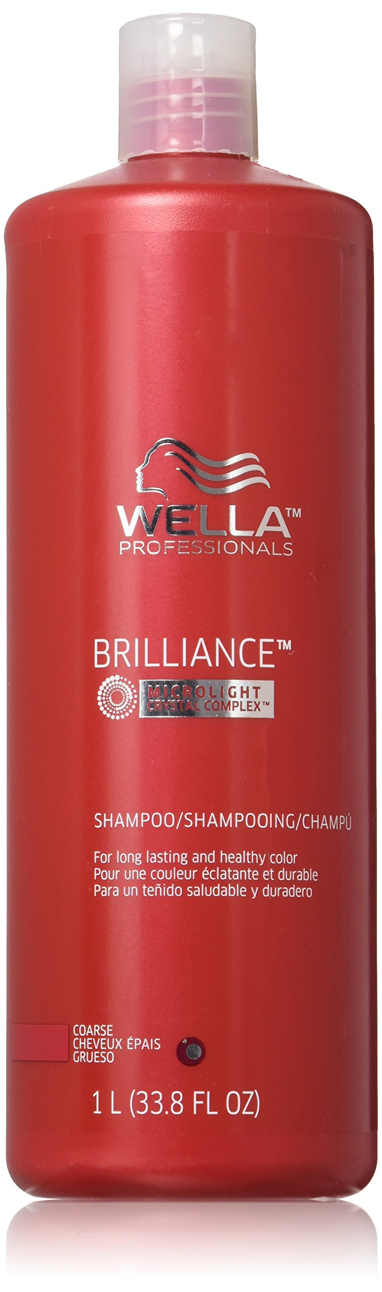 Wella Brilliance Shampoo for Long Lasting and Healthy Color, 33.8 Ounce by Wella