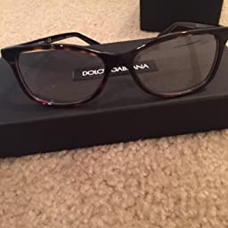 Amazon.com: Dolce&Gabbana DG3222 Eyeglass Frames 502-52 - Havana