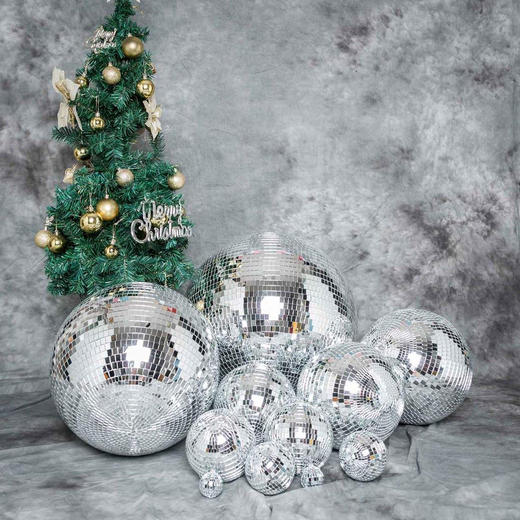 Efavormart 24'' Groovy Glass Mirror Disco Ball Party Decoration for Wedding Event Birthday Party by Efavormart.com (Image #5)