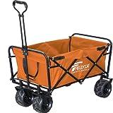 FIELDOOR ワイルドマルチキャリー/折りたたみ式多用途キャリーカート 耐荷重120kg アウトドア キャンプ レジャー