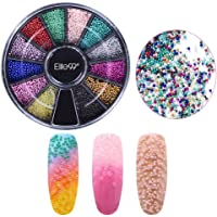Elite99 Nail Art Beads Multicolor Resin Caviar Beads Gemstones Nail Art Tips Fashion Diy Manicure Decoration Kit 12 Colors Caviar02