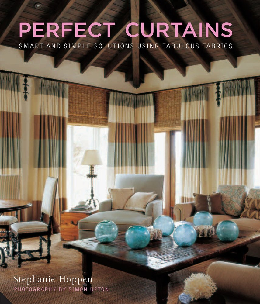 Perfect Curtains Design red curtains small windows for kitchen design Perfect Curtains Smart And Simple Solutions Using Fabulous Fabrics Stephanie Hoppen 9781906417109 Amazoncom Books
