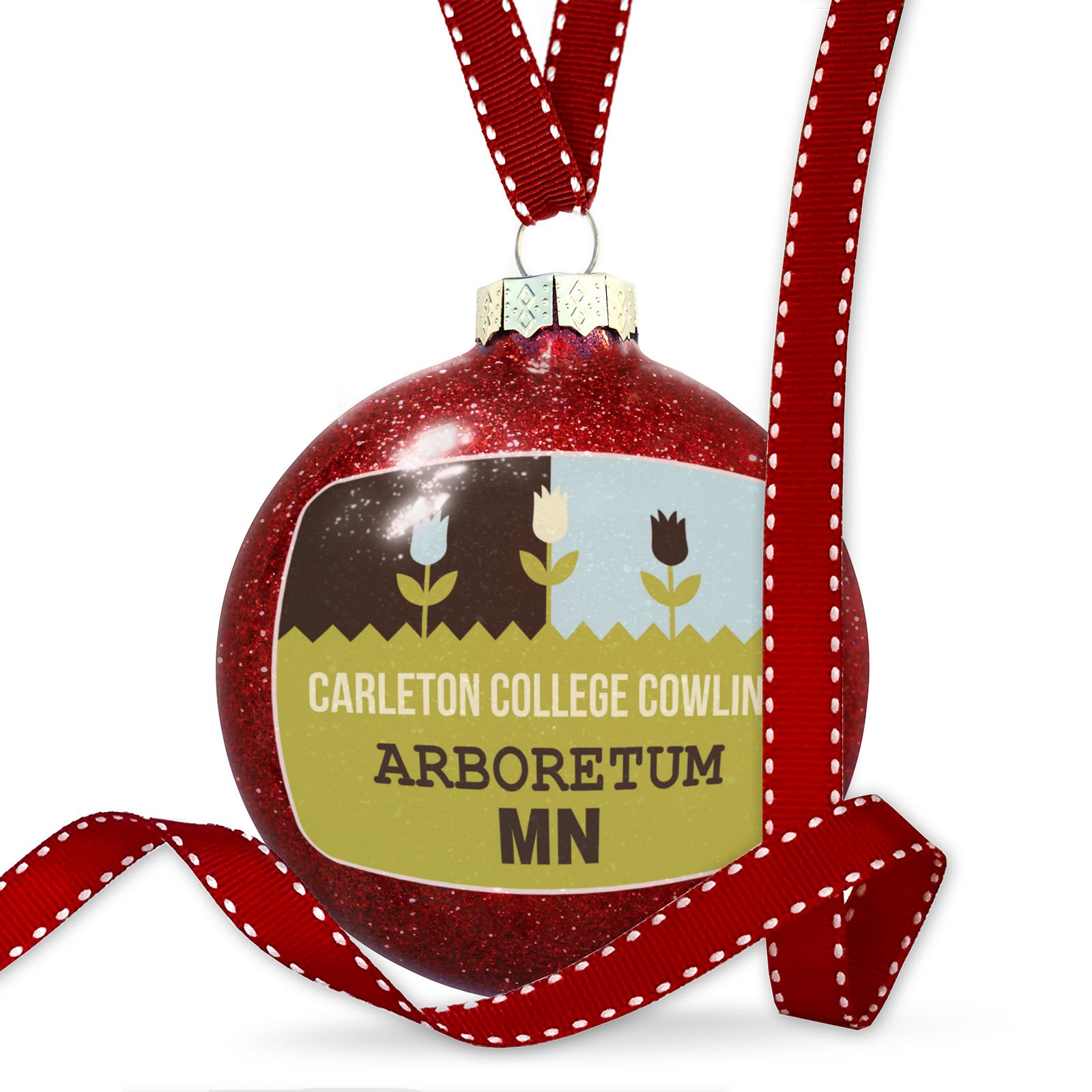 Christmas Decoration US Gardens Carleton College Cowling Arboretum - MN Ornament