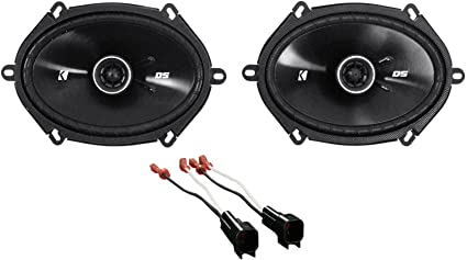 Amazon Com Kicker 6x8 Front Factory Speaker Replacement Kit For 2004 2006 Ford F 150 Car Electronics