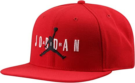 Jordan Gorra Pro Jumpman Air Hbr Rojo Ajustable: Amazon.es: Ropa y ...