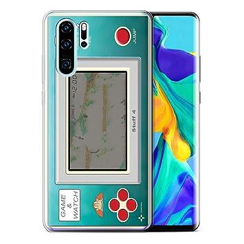 eSwish Phone Case for Huawei P30 Pro 2019 Games Console Donkey Kong JR Design Transparent Soft Flexi Gel TPU Cover