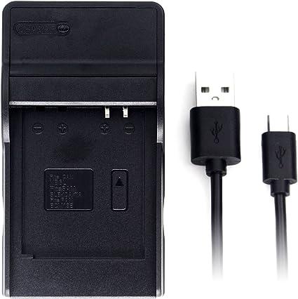 USB AC//DC Adapter Battery Charger+PC Cord For Panasonic DMC-ZS50 DMC-TZ70 Camera
